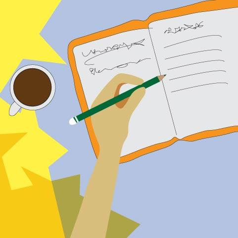چرا نوشتن روزانه باعث پیشرفت در زندگی میشه؟